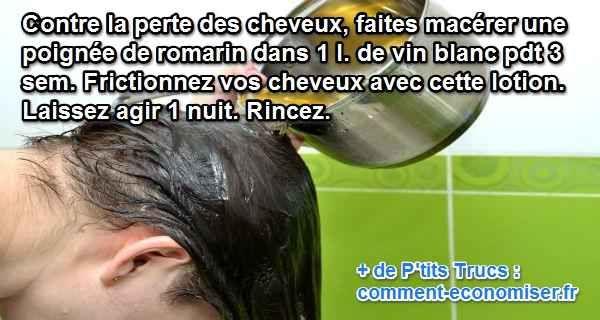versez la lotion sur vos cheveux et frictionner pour ralentir la perte des cheveux