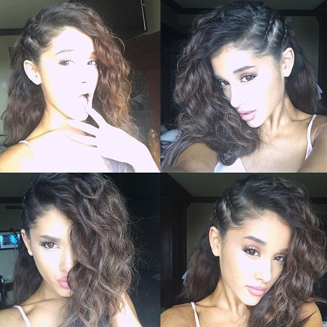Ariana Grande @arianagrande peekaboo healthy ...Instagram photo | Websta (Webstagram)