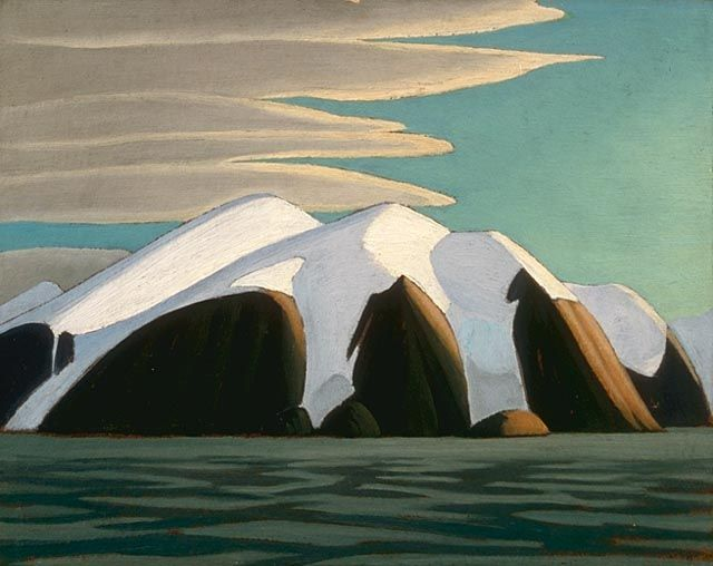 Lawren Harris (1885 - 1970) | North Shore, Baffin Island (1930)