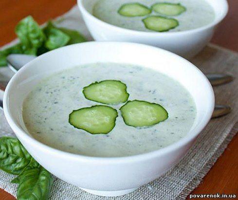 (69) Одноклассники_ Холодный огуречный суп
