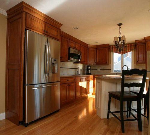 Birch Kitchen Cabinets: 37 Best Birch Cabinets Images On Pinterest