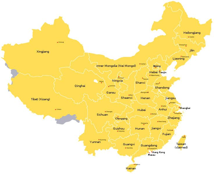 Best China Maps Images On Pinterest Ancient China China Map - China map