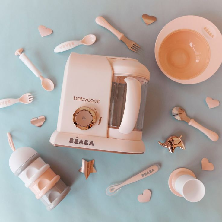 We are in love with the Beaba Babycook in Rose Gold!   http://ss1.us/a/e50be1Hb