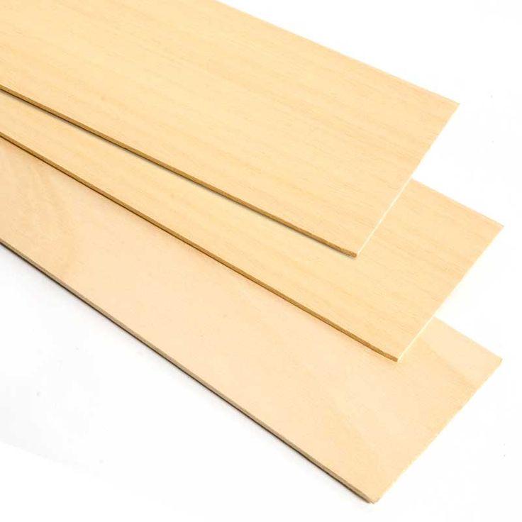 MADERA DE TILO - La madera de tilo tiene un color pálido, es muy blanda y fácil de trabajar. Estas características la convierten en perfecta para trabajos de ebanistería, talla y confección de maquetas.