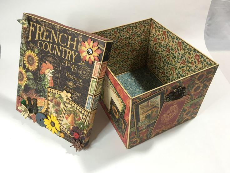 French Country Memory Box (Handmade)   Creator's Image Studio