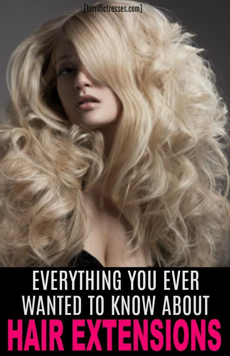 There Are Several Types Of Hair Extensions That Can Help You Fake