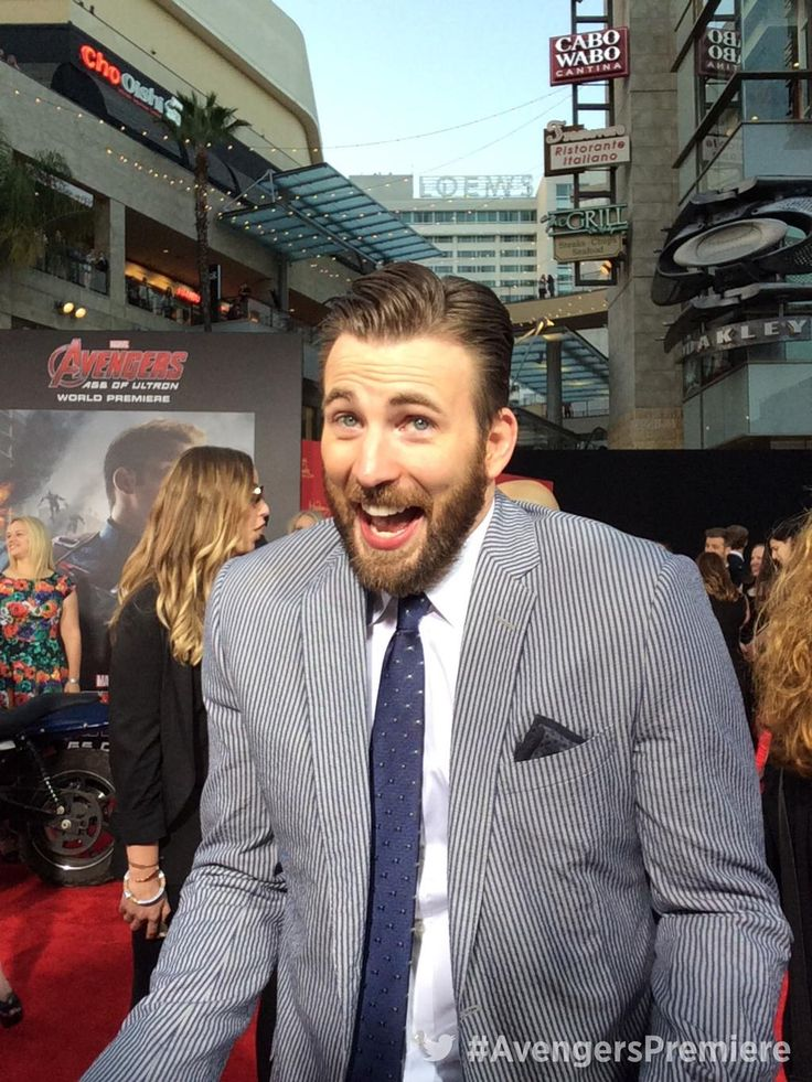 Live from the @Avengers #AgeofUltron red carpet world premiere with @chrisevans! #AvengersPremiere