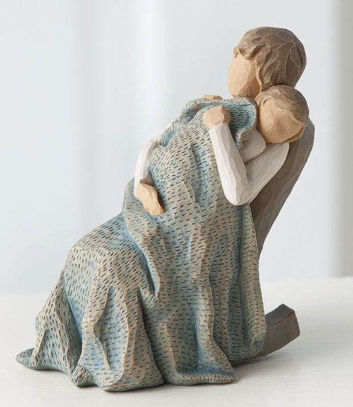 Willow Tree Figurine - The Quilt.. I want this for my nanny! It reminds me of her special quilts:))