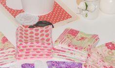 Tuto des lingettes lavables double faces.  #tuto #turoriel #lingetteslavables #couture #sew #sewing #homemade #diy