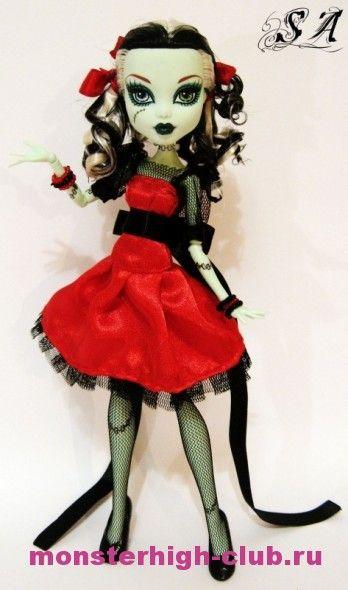 """Платье """"Девушка в красном""""   Monster High Club"""