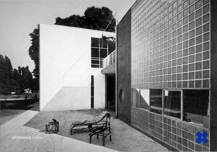 """""""Casa junto ao lago para o artista"""", Giuseppe Terragni, V Trienal de Milão, 1933"""