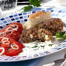 WeightWatchers.nl: Weight Watchers Recepten - Bifteki met knoflooksaus