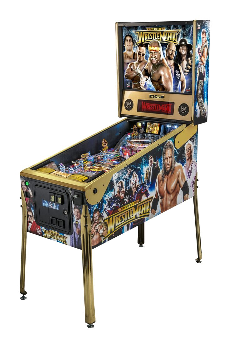 Catching up with Stern Pinball on its new SPIKE system and Wrestlemania Limited Edition | Ars Technica