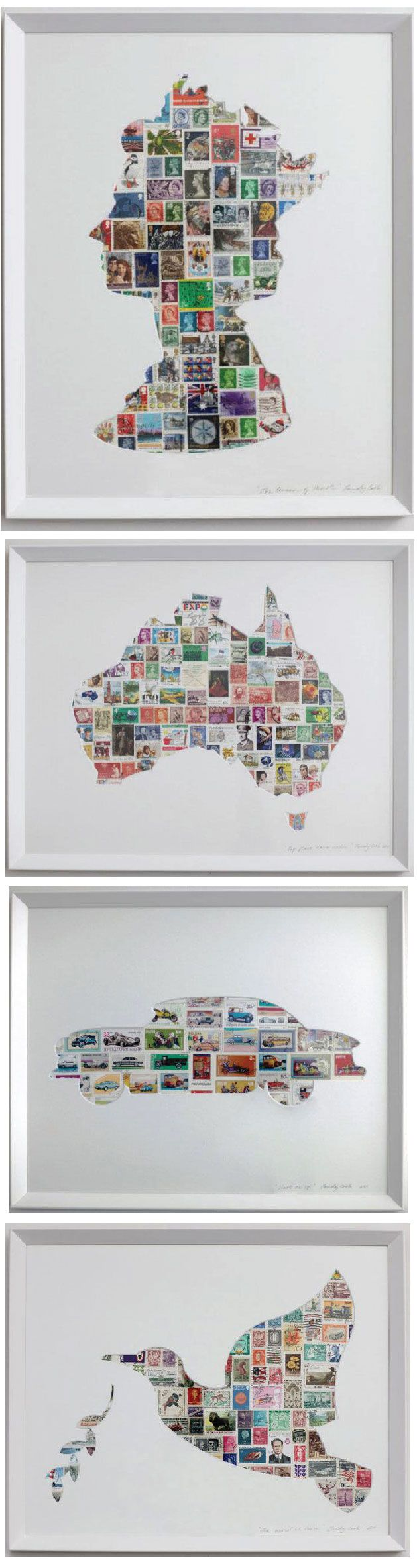 Silhouette and prints by Trudy Cook. The Oz one <3