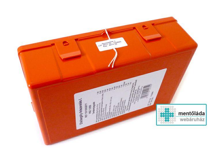 I. mentőláda: http://www.mentolada-webaruhaz.hu/product_info.php/products_id/64  A piros színű elsősegély dobozok a Fressia gyártótól érkeznek, akik más néven Pharmico illetve Dispomedicor néven ismertek Magyarországon.