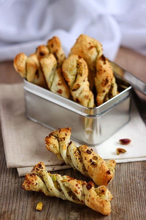 Sacristains al pistacchio