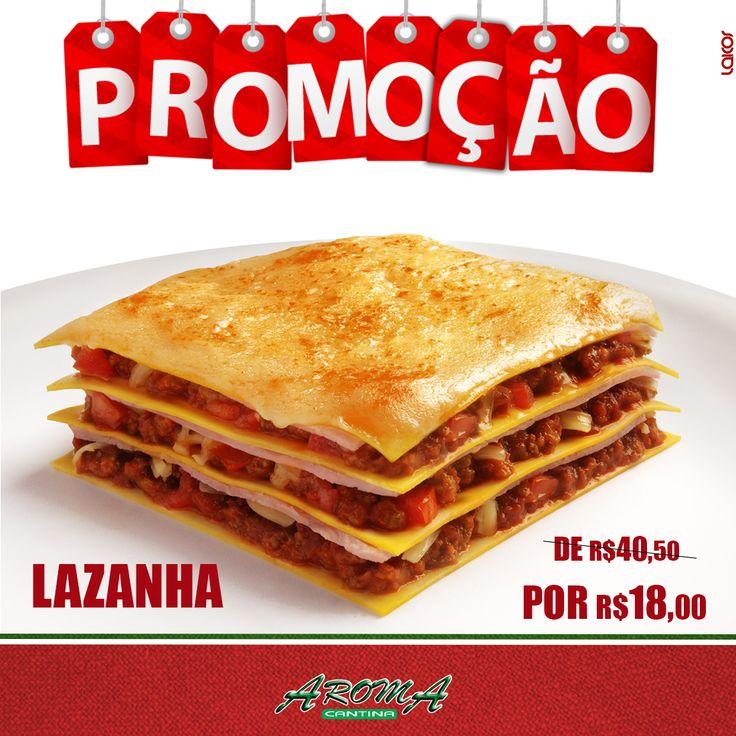 Post Facebook / Cliente: Cantina Aroma / Criação: Leonardo Molinari