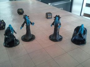 Mindflayer Infiltrator in White Strong & Flexible