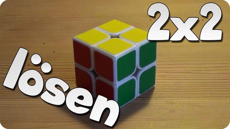 2x2 Rubik's Cube / Zauberwürfel lösen   schnelle Anfängermethode