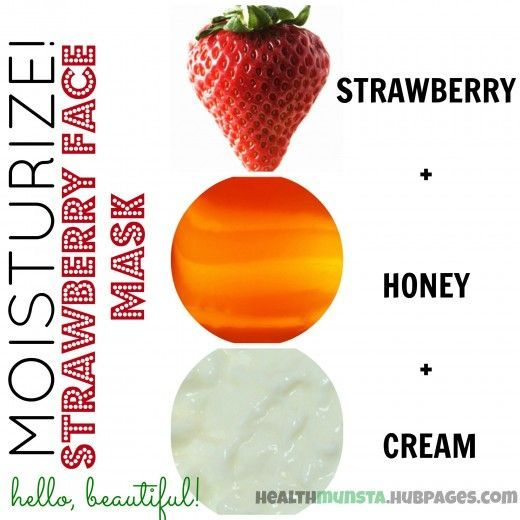 Best Beauty Diy Ideas :   Illustration   Description   Mix strawberry, honey and cream to make an incredibly hydrating face mask that will leave your skin moisturized and glowing!    -Read More –   - #DIYBeauty