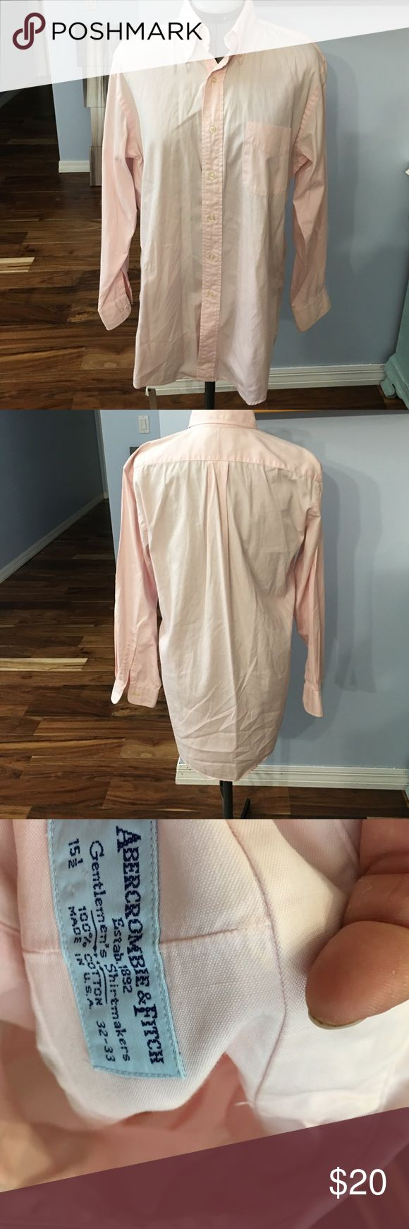 Abercrombie Fitch men's button down Great condition no tears or stains Abercrombie & Fitch Shirts Dress Shirts