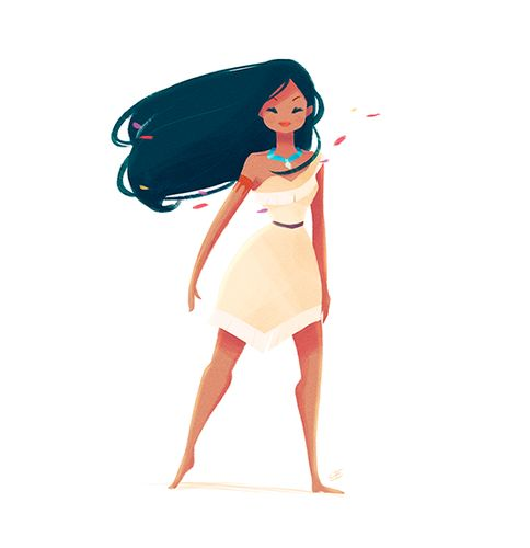 Pocahontas - disney-females Fan Art