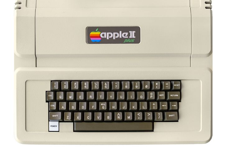 The Apple II Plus Computer (1979). The first computer I learned to program.