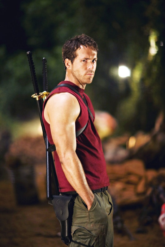X-Men Origins: Wolverine. I really only watched this movie for Ryan Reynolds... Then out turned out to be a really good movie