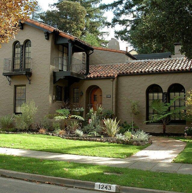 Spanish Style Houses Exterior: 82 Best Mediterranean Revival Houses Images On Pinterest