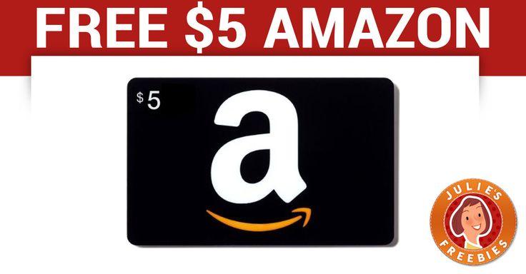 Free 5 amazon gift card julies freebies amazon gift
