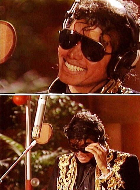 Michael Jackson ~ We are the World behind the scenes.  USA Africa | 1985