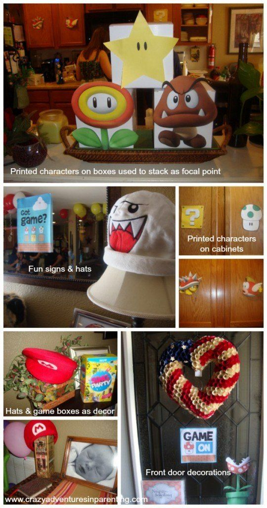 Super Mario Party Ideas - How to Throw a Fun Mario Party