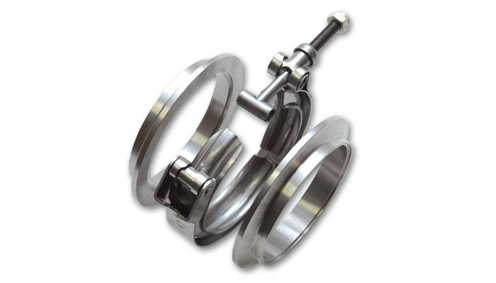 a vibrant exhaust clamp 1492 stainless steel v band
