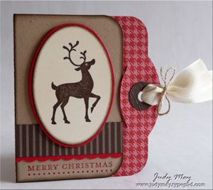 StampsWinter Post, Teeny Tiny Sentiments Card stock & PapersCrumb Cake, Very Vanilla, Real Red, Early Espresso Patterns DSP, Holiday Treas...