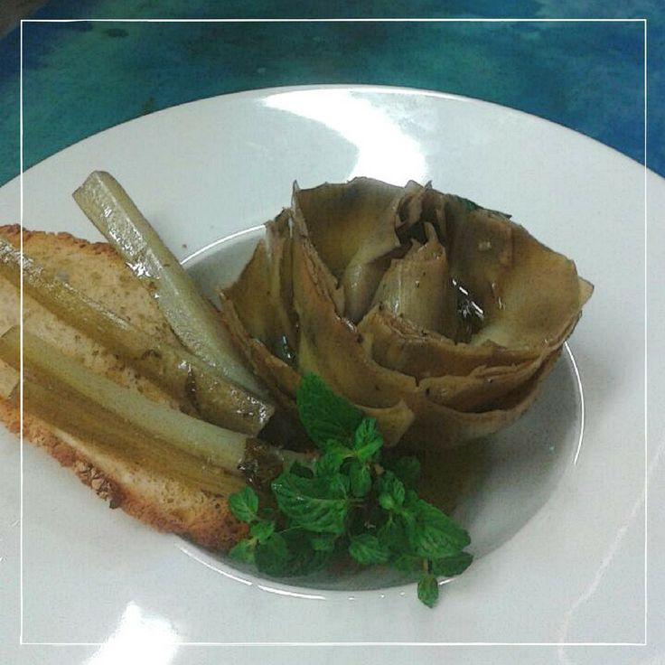 Carciofo alla romana #food #arlù #ristorantearlù
