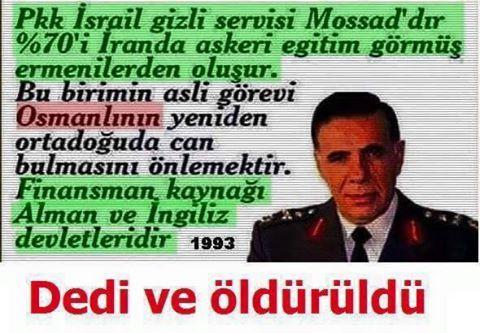 Allah rahmet eylesin Eşref Bitlis Paşa.
