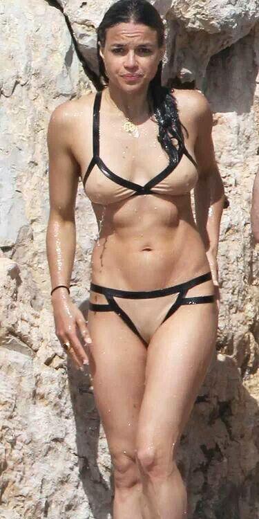 Michelle Rodriguez Bikini January 2017