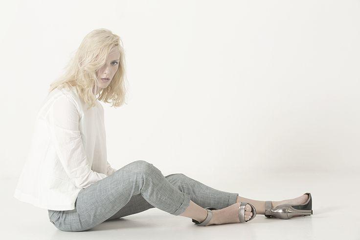 giacca BAILEE, top CYBILLE, pantalone MARGOT
