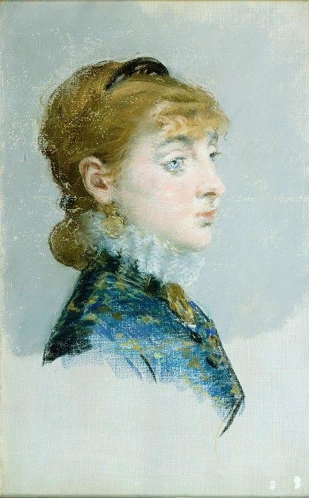 Эдуард Мане - Мадемуазель Люси Делабинье (1859-1910), называемая Вальтесса-де-ла-Бинье. часть 4 Музей Метрополитен