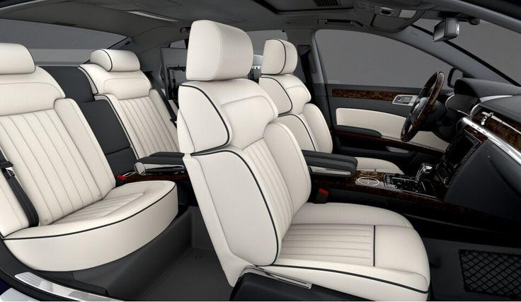 VW Phaeton 4.2 V8 - Lunablue with Snowbeige Interior #1