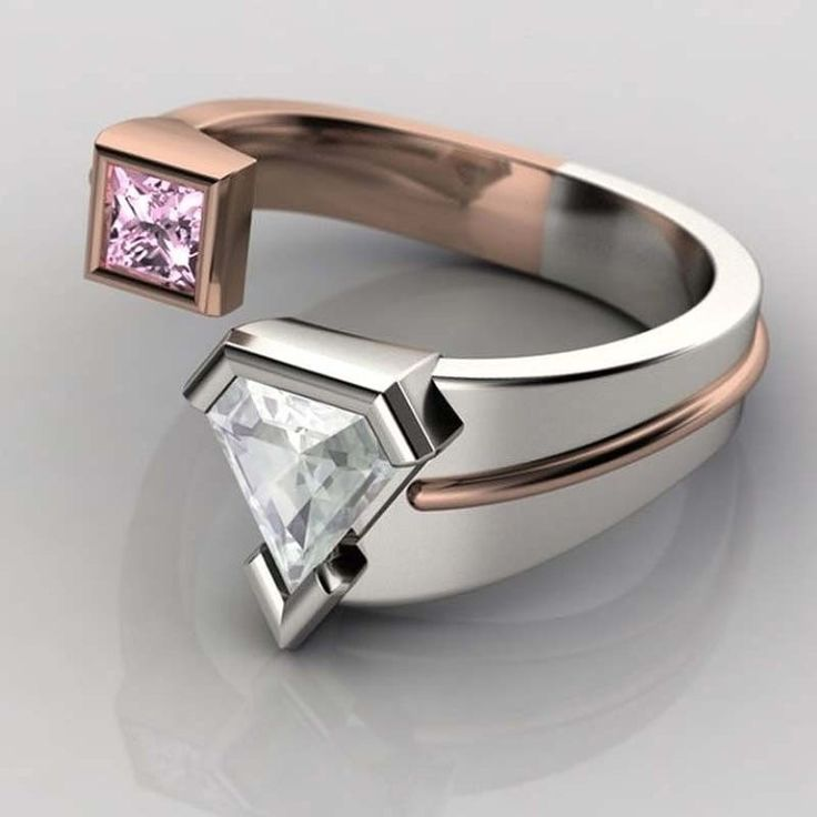 40 Unique & Unusual Wedding Rings for Him & Her ... Superman wedding  ring └▶ └▶ http://www.pouted.com/?p=32655