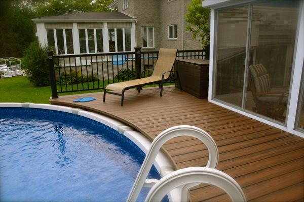 17 best images about deck et piscine on pinterest decks for Plan pour deck de piscine