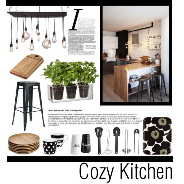 """Cozy Kitchen"" by veronikasinterior on Polyvore"