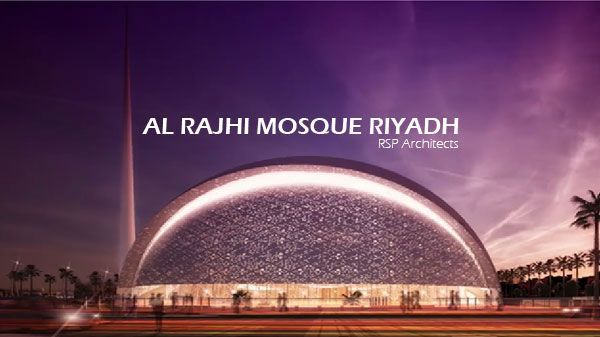 Al-Rajhi Mosque Riyadh by RSP Architects                                                                                                                                                                                 More