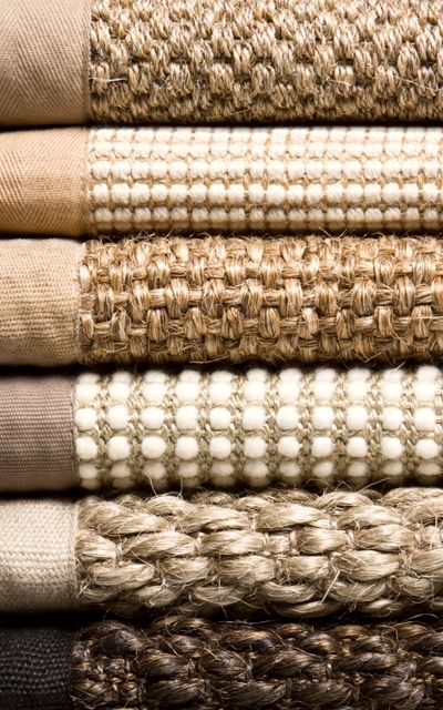 Sisal! Seagrass! Natural fibers...perfect for allergy sufferers!