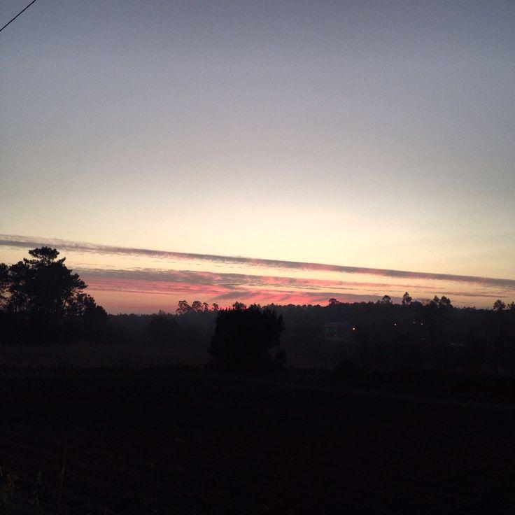Cielo rosa  Curiosidades de una tarde invernal #sky #pink #ciel #rose