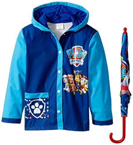 Nickelodeon Little Boys Paw Patrol Slicker and Umbrella, ... https://www.amazon.com/dp/B01F2C3CKU/ref=cm_sw_r_pi_dp_x_9436ybDJ4RZER