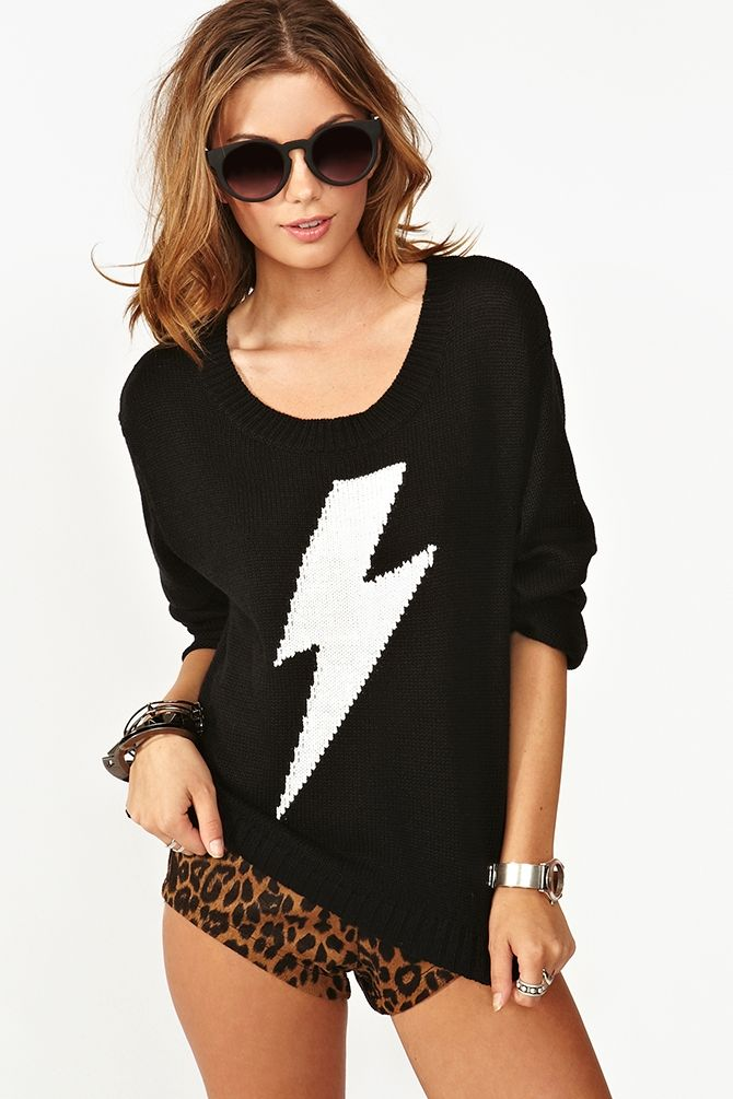 New Flame Knit in Clothes Tops at Nasty Gal