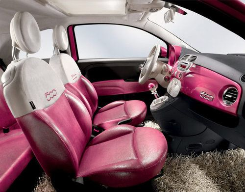 Check Out The Interior Of Barbie Fiat 500