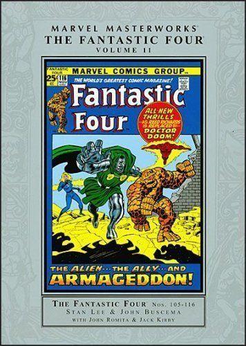 Marvel Masterworks: Fantastic Four - Volume 11 - http://moviesandcomics.com/index.php/2017/06/05/marvel-masterworks-fantastic-four-volume-11/